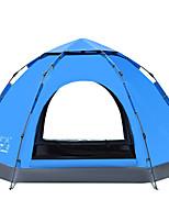 LINGNIU® 5-8 personnes Tente Double Tente de camping Tente automatique Garder au chaud Etanche Pare-vent Protection Solaire 1500-2000 mm