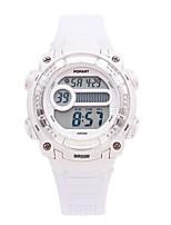 Детские электронные часы Цифровой Pезина Группа Белый