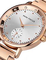 Жен. Модные часы Наручные часы Уникальный творческий часы Повседневные часы Кварцевый Нержавеющая сталь Группа С подвесками Cool