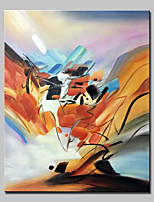 Big Size Hand-Painted Abstract Oil Painting On Canvas Modern Wall Art Picture For Home Decoration No Frame
