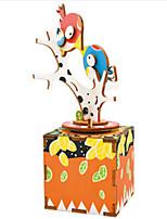 Music Box Bird Wooden