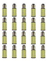 4W 1157 BAY15S PY21W 120SMD2835 Turn Signal Lamp for Car White DC12V 20Pcs