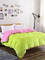 Сплошной цвет Одеяло материал 1 пододеяльник