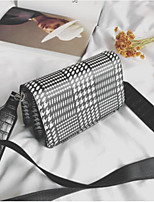 Women Bags All Seasons PU Shoulder Bag with for Casual Black