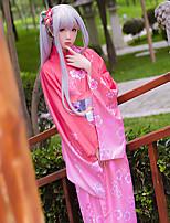 Ispirato da Cosplay Cosplay Anime Costumi Cosplay Abiti Cosplay Altro Kimono Cintura Accessori per capelli Per Donna