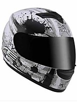 BYE 616B Motorcycle Helmet Summer Cross Country Helm Men Individual Locomotive Rally Helmet Full Cover