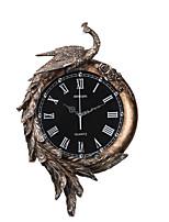 Модерн Традиционный Деревенский Повседневный Ретро Бабочки Животные Настенные часы,Животный принт Резина В помещении Часы