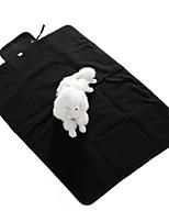 Dog Bed Pet Blankets Blue Gray Black