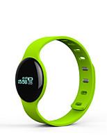 Детские Смарт-часы Цифровой Сенсорный дисплей Педометр Фосфоресцирующий Pезина Группа Черный Синий Красный Оранжевый Зеленый
