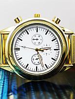 Муж. Жен. Модные часы Кварцевый сплав Группа Золотистый