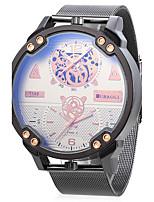 JUBAOLI Муж. Спортивные часы Армейские часы Уникальный творческий часы Китайский Кварцевый С двумя часовыми поясами Металл Группа Cool