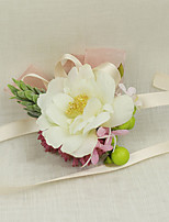 Wedding Flowers Grace Wrist Corsages Wedding / Special Occasion Satin / Fabric The Bride's Wrist Flower 1 Piece