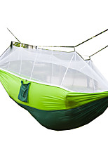 Camping Hammock with Mosquito Net Collapsible Nylon for Camping Camping / Hiking / Caving Outdoor Travel