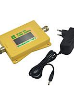 Мини-интеллектуальный дисплей gsm980 мобильный сигнал сигнала бустер 2g gsm 900mhz сигнал повторитель с электропитанием белый
