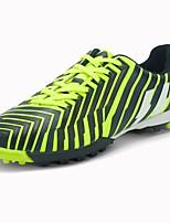 Garçon Chaussures d'Athlétisme Confort PU de microfibre synthétique Printemps Automne Décontracté Football Lacet Talon Plat Orange Vert