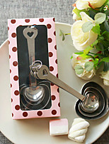 Heart Measuring Spoons Beter Gifts® DIY Wedding Anniversary Guest Gifts