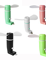 Ruishengdaotg micrófono usb ventilador móvil ventilador portátil cool cool ventilador giratorio para Android
