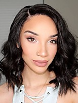 Short Bob Lace Front Human Hair Wigs Body Wave with Baby Hair 100% Unprocessed Brazilian Virgin Remy Hair Wig for Black Woman