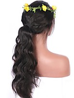 De haute qualité 12-26 pouces 130% de masse corporelle pleine perruque en dentelle perruque ondulée perruque perruque ondulée