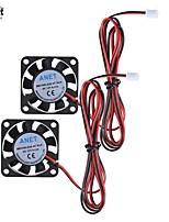 Anet 40x40x10mm dc 12v бесщеточный охлаждающий вентилятор охлаждения 2 провод для 3d принтера