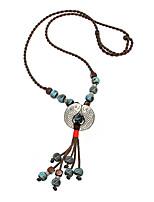 Жен. Ожерелья с подвесками Ожерелья-цепочки Воротничок В форме животных Сплав Базовый дизайн Животный дизайн Мода Бижутерия Назначение