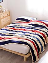 Коралловый флис Полоски Другое одеяла