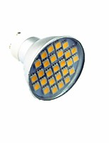 3W Focos LED 27 SMD 5050 300 lm Blanco Fresco Decorativa AC220 V 1 pieza