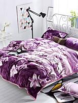 Super Soft Floral Polyester Blankets