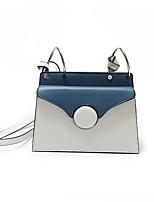 Women Shoulder Bag PU All Seasons Baguette Magnetic White Black Orange