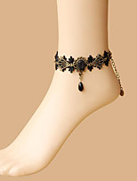 Belly Dance Jewelry Women's Performance Polyester Crystals/Rhinestones 1 Piece Bracelets