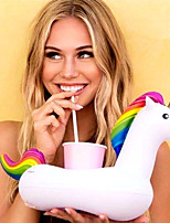 Inflatable Unicorn Floating Cup Holder For Beverage Boats Phone Stand Holder Party Supplies