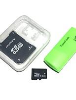 8gb tarjeta de memoria microdhc tf con lector de tarjetas usb y sdhc sd adaptador