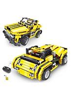 Набор для творчества Конструкторы Обучающая игрушка Радиоуправление Для получения подарка Конструкторы Автомобиль Пластик Ацетат / пластик
