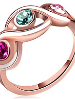 Couple Rings Band Rings Women's Fashion Luxury Elegant Creative Multicolor Rings Party Daily Wedding Gift Jewelry