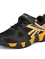 Boys' Athletic Shoes Light Soles Spring Fall Tulle Walking Shoes Casual Magic Tape Flat Heel Royal Blue Black/Gold Dark Blue 2in-2 3/4in