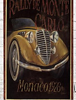 Wall Decor Wooden Vintage Creative Vehicle Wall Art,1