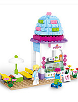 Building Blocks For Gift  Building Blocks House Plastics 6 Years Old and Above Toys