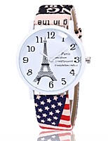 XU Women's Quartz The Eiffel Tower Wrist Watch Dress Watch