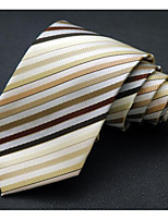 Men's Polyester Neck Tie,Office/Business Striped