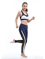 Yoga Tights Fast Dry Wearable Breathability High Elasticity High Elasticity Sports Wear Women's Yoga Running/Jogging Pilates Exercise &