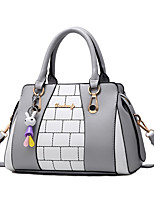 Women Bags Spring/Fall All Seasons PU Shoulder Bag with Ruffles Zipper for Wedding Event/Party Casual Formal Outdoor Office & Career