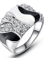 Band Rings Settings Ring Luxury Euramerican Fashion 3Colors Irregular Birthday Wedding Movie Gift Jewelry