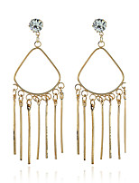 Women's Earrings Set Basic Tassel Geometric Metallic Alloy Jewelry For Gift Evening Party Stage Street