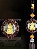 DIY Automotive Pendants  Upscale Sided Guan Yu  Car Pendant & Ornaments Crystal Jade