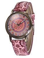 Жен. Спортивные часы Армейские часы Модные часы Наручные часы Уникальный творческий часы Повседневные часы Кварцевый Кожа ГруппаВинтаж С