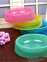 Cat Dog Bowls & Water Bottles Pet Bowls & Feeding Random Color
