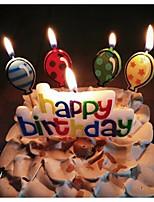 Acessórios do partido Velas Aniversário Festa de 16 Anos Festa de aniversário Chá de Bebê Recém-Nascido Aniversário Other 1 Peça