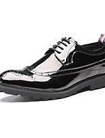 Для мужчин обувь Кожа Лакированная кожа Весна Лето Осень Зима Удобная обувь Формальная обувь Туфли на шнуровке Шнуровка Назначение