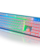 A-jazz kjzs teclado de jogo mecânico touch3-color backlight19key anti-fantasma