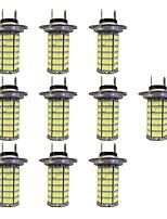 4W H7 120SMD2835  Foglight Lamp for Car White DC12V 10Pcs